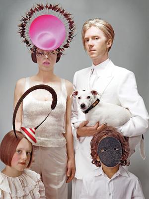 Isabella Blow y Philip Tracy retratados para la revista Vanity Fair