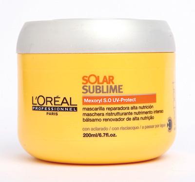 Mascarilla Reparadora Alta Nutrición Solar Sublime   $15.750, L'Oréal Professionnel