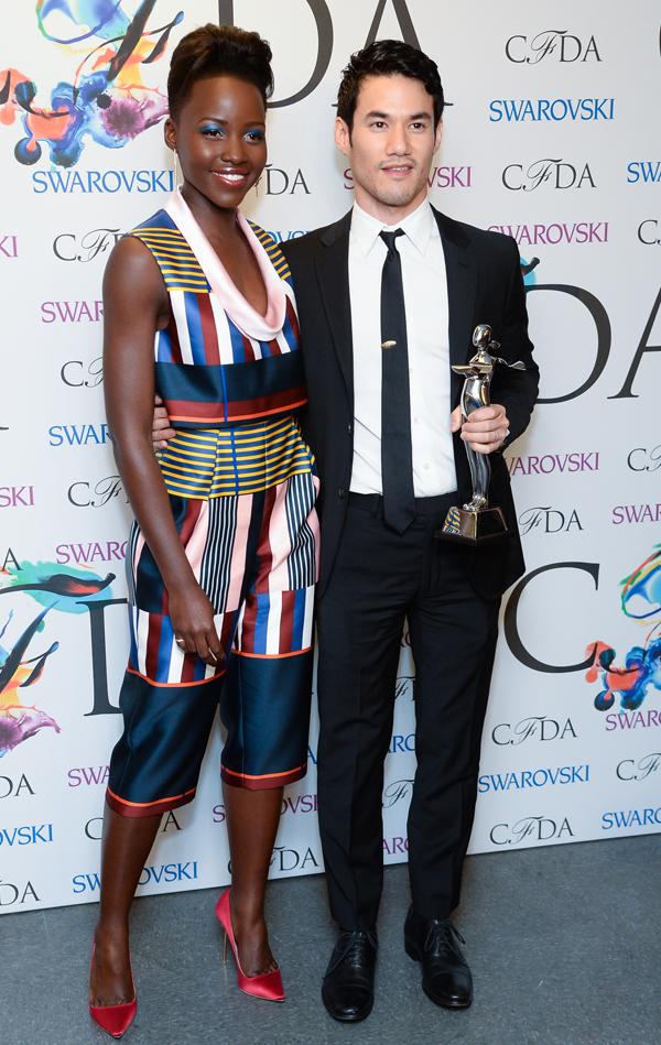 Lupita Nyong'o y Joseph-Altazurra