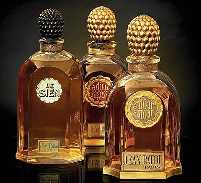 Los perfumes Le Sien, Adieu Sagesse y Amour Amour en sus versiones originales.