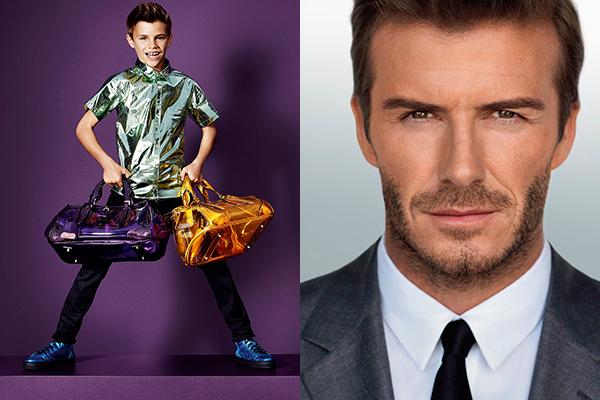 Romeo, de 11 años, hijo de David Beckham.