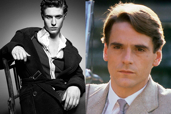 Dime cómo te llamas... Max Irons And Jeremy Irons