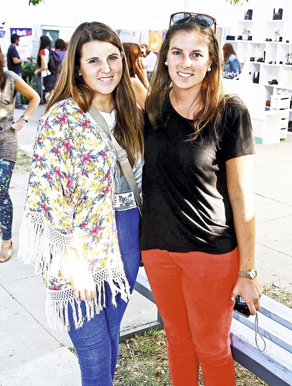 Isidora Tealdo y Caterina Pescalzi