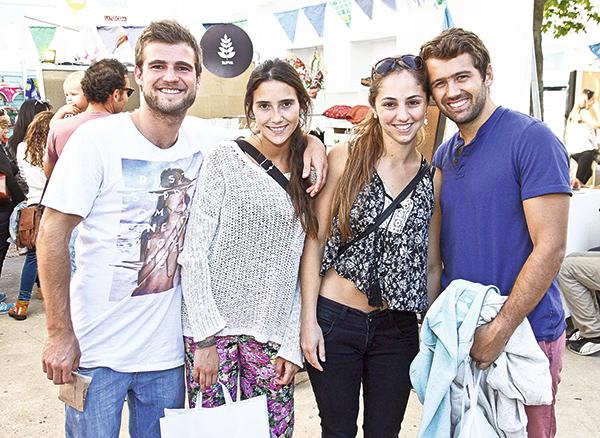 Vicente Cubillos, Natalie Jovi, Alejandra Hedó y Gianpiero Peverelli
