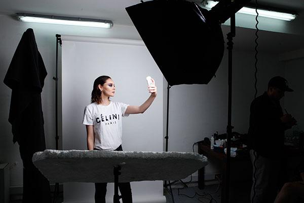Actitud selfie