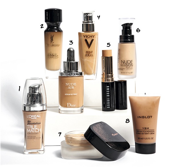 bases de maquillaje luminosas