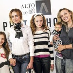 Alejandra Fosalba, Anya y Fiona Jaerderlund; Katina Huberman y Zoe Frazier