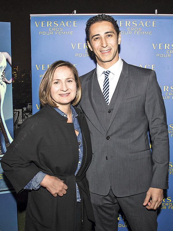 Paula Olmedo y Farical Hammad