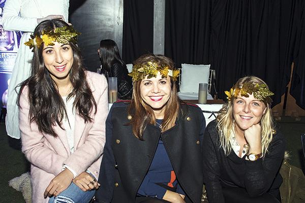 Celine Mahou, Paula Avilés y Soledad Hott