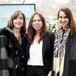Marisol Icarán, Paola Rabie y Francisca Zuazola