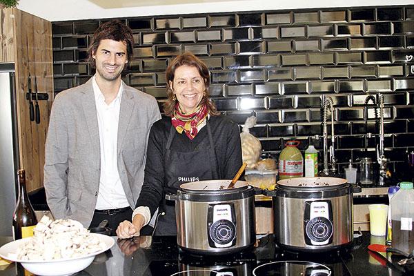 Gonzalo Moreno y Martita Serani