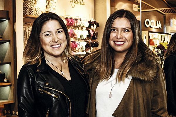 María Paz Maldonado y Lorena Flores
