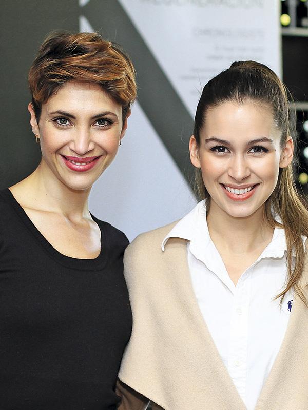 Beatriz Palma y Nicole Putz