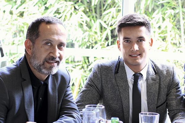 Manuel Oviedo y Tomás Becerra