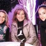 Karin Schacht, Milena Báez y Maite Villanueva