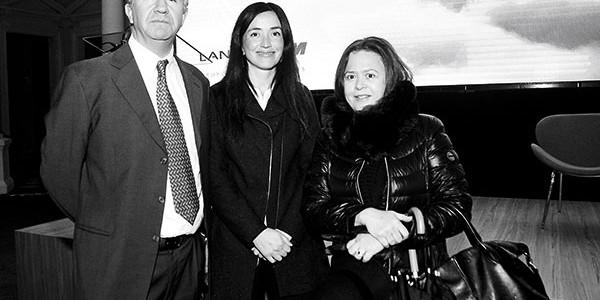 Alfredo Arbizu, Daniela Riutort y Cristina Pérez Íñigo