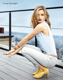 dd72d29a En la publicidad de zapatos Minelli. - Revista Mujer