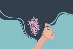Este año por primera vez la imagen de Feria Mujer no es una modelo sino una ilustración, cuyo creador es Álex Ceball, quien también tendrá un stand con su trabajo.