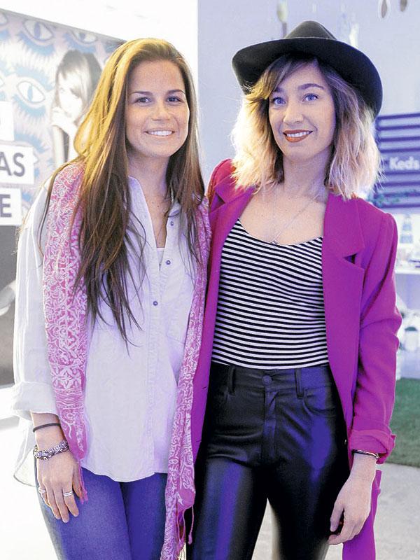 Daniela Hartley y Camila Santa Ana