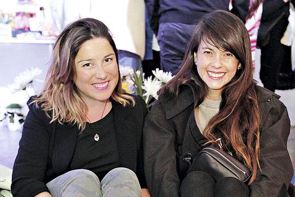 María Paz Maldonado y Tam Jiménez