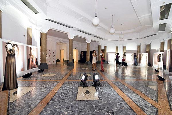 La muestra se realizó en el Espacio Bossi-Clerici, ubicado en el cuadrilátero de la moda, durante la feria Expo Milán 2015.