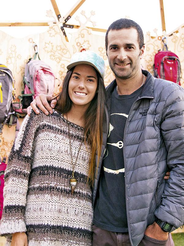 María Jesús Manterola y Óscar Greene