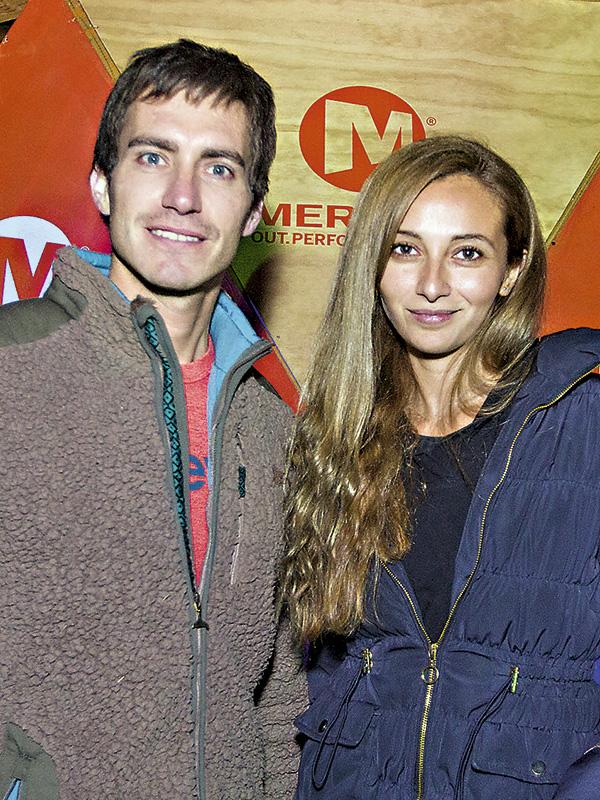 Rodrigo Nuño y Francisca Ansaldi