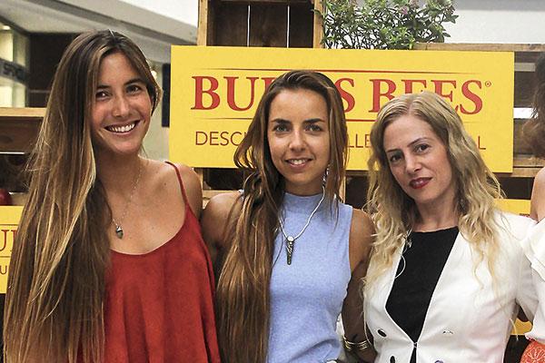 Trinidad Segura, Roberta Rebori y Sandra Lewin
