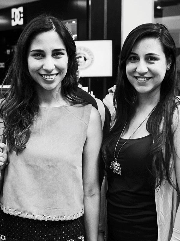 Patricia Morales y Francisca Quezada