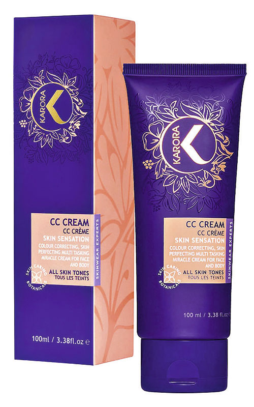 Karora, CC Cream Face and Body, US$ 29.45 en Amazon