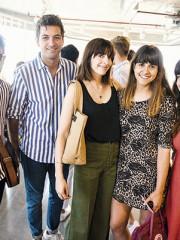 Daniel Pacheco, Felipe Montalba, Paloma Salas, Daniela Carrasco y Carolina Illino
