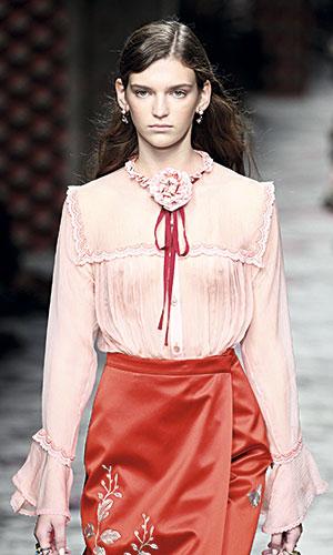 Desfile de Gucci Semana de la Moda de Milán, Primavera /Verano 2016.