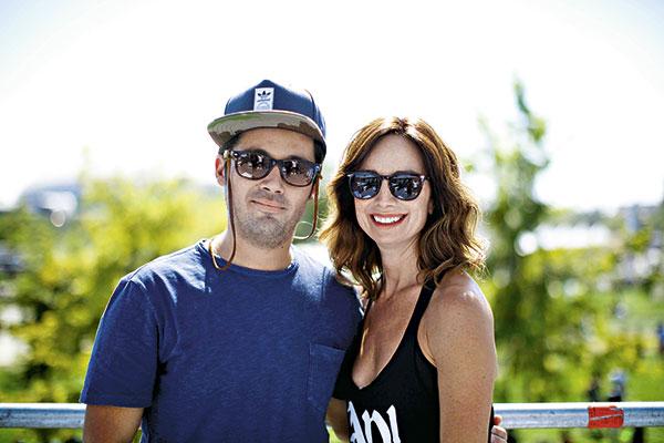 Humberto Sichel y María José Prieto