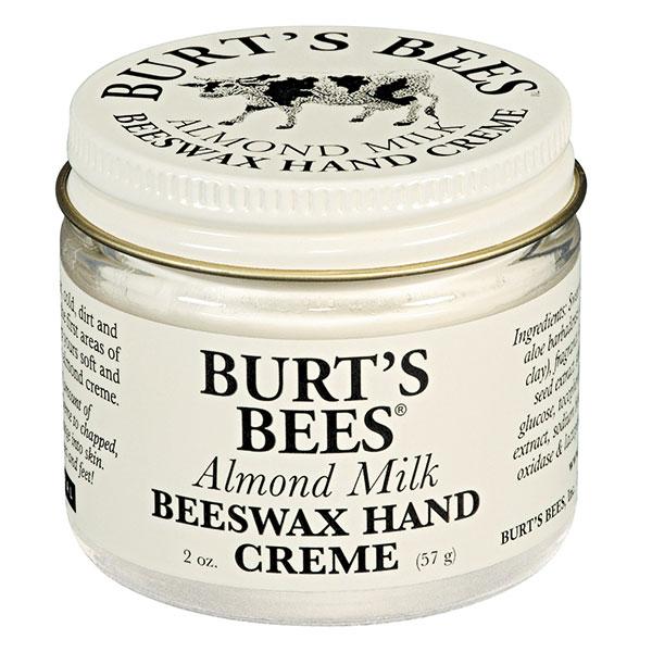 Burt's Bees, crema para manos de cera de abejas y leche de almendras, $9.490