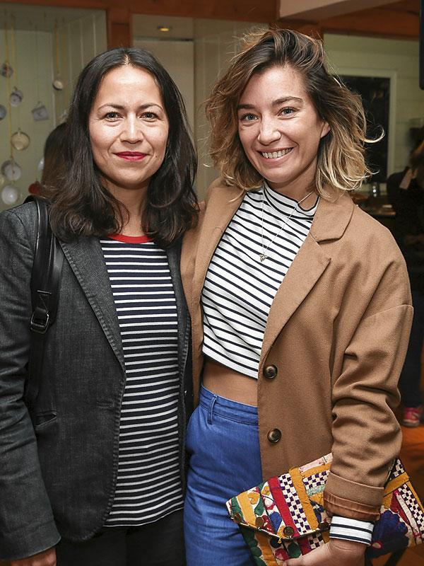 Paty Leiva y Camila Santa Ana
