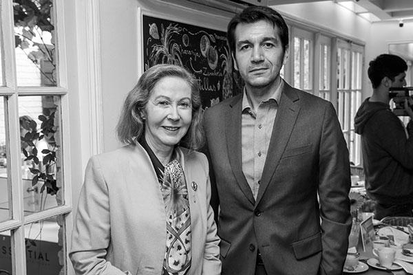 María Cecilia Orlandi y Rodrigo Zambrano