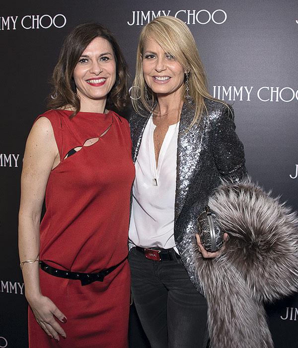 Alessandra Biancotto y Cecilia Bolocco