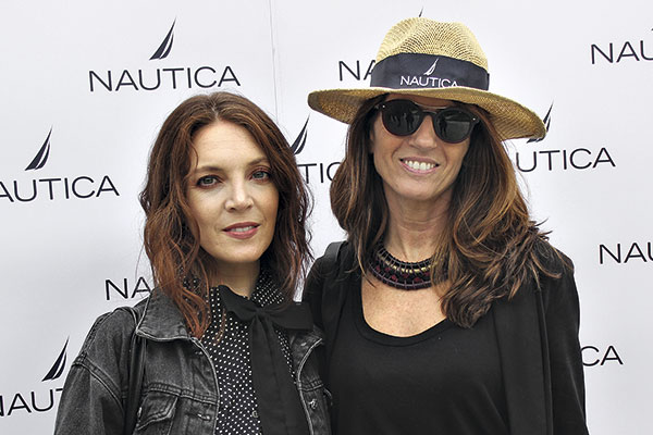 Valentina Moyano y Alejandra Rudolphy
