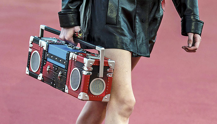 La Boom Box Bag.