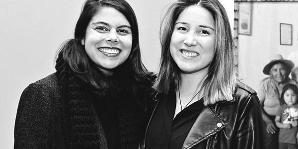 Paola Cid y María Paz Maldonado