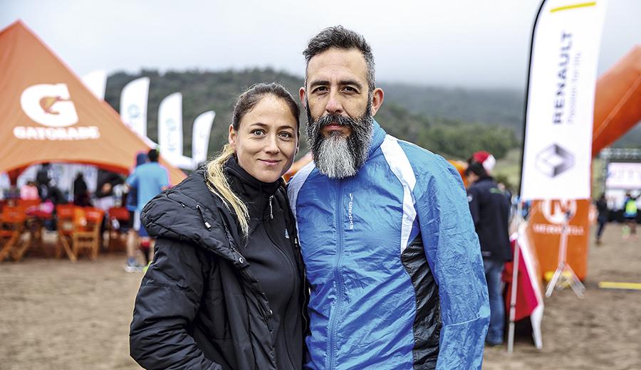 Bárbara Schilling y Carlos Álvarez