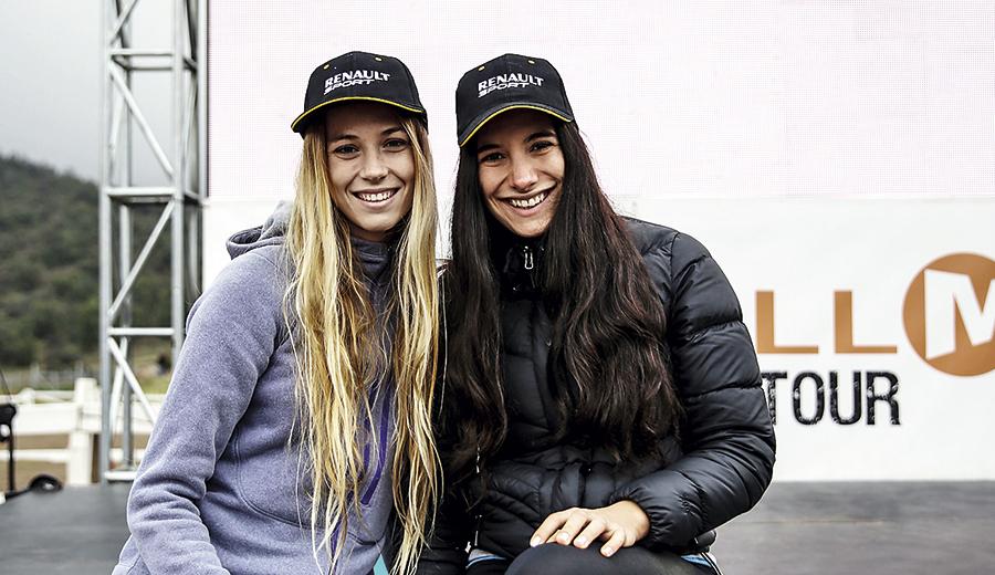 Ximena Errázuriz y Macarena Rabbaa