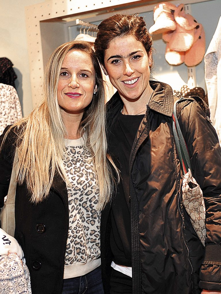 Francisca Guevara y Caterina Siri