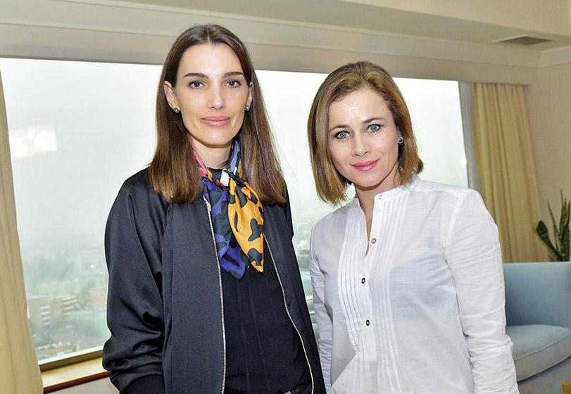 Clarissa Casciano y Amaya Forch