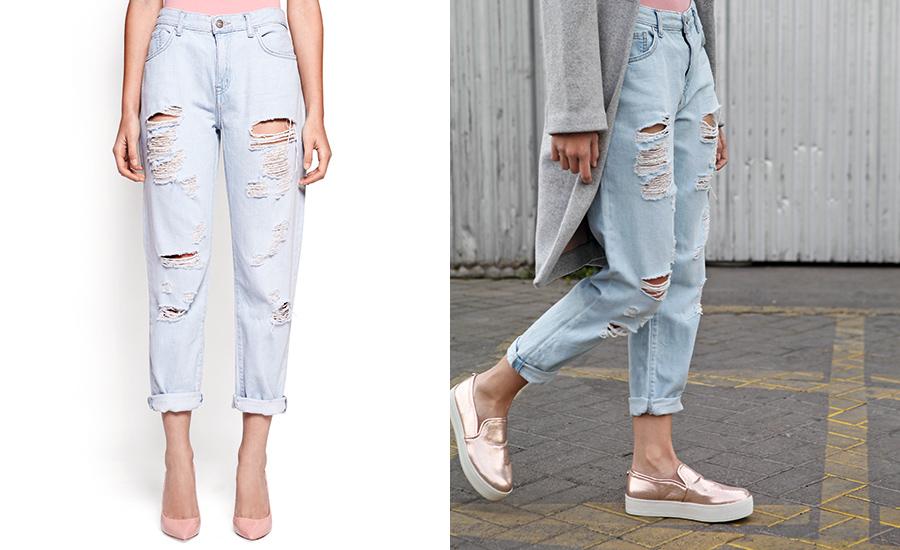 Pantalones y zapatos  Dúos dinámicos 223acc71e306