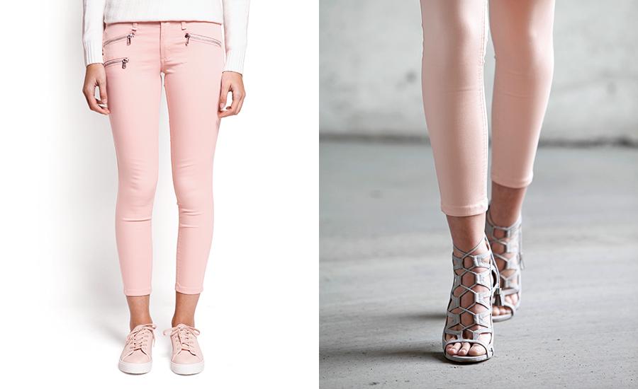 ... o con zapatos altos para entregar una silueta estilizada. El ideal es  no combinarlos con botines para evitar acortar visualmente las piernas. 186af26dff68