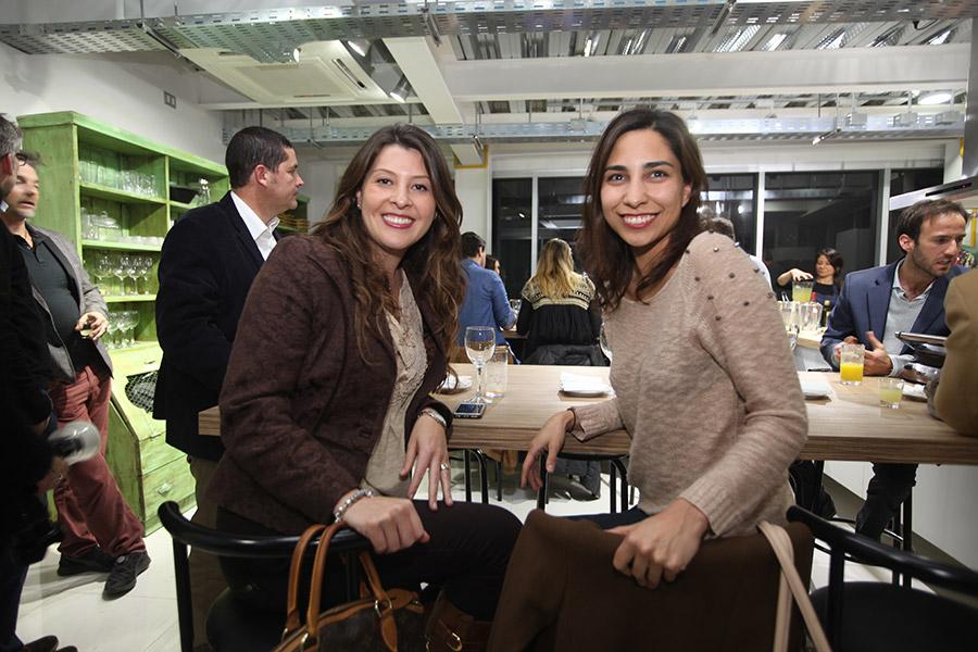 Bárbara Briceño y Patricia Morales