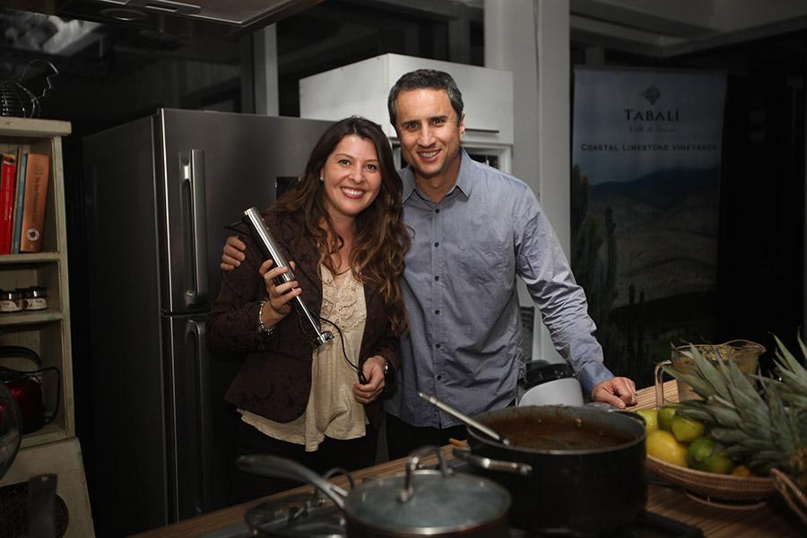 Bárbara Briceño y Rodrigo Guendelman