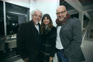 Ennio Carota, Marisa Sotelo y Álvaro Lois