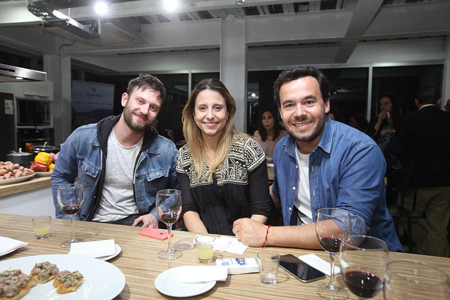 Hernán Contreras, Pamela Ibarra y Eduardo De La Iglesia